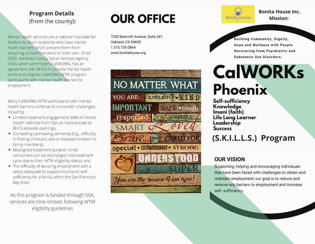 CalWORKS Brochur